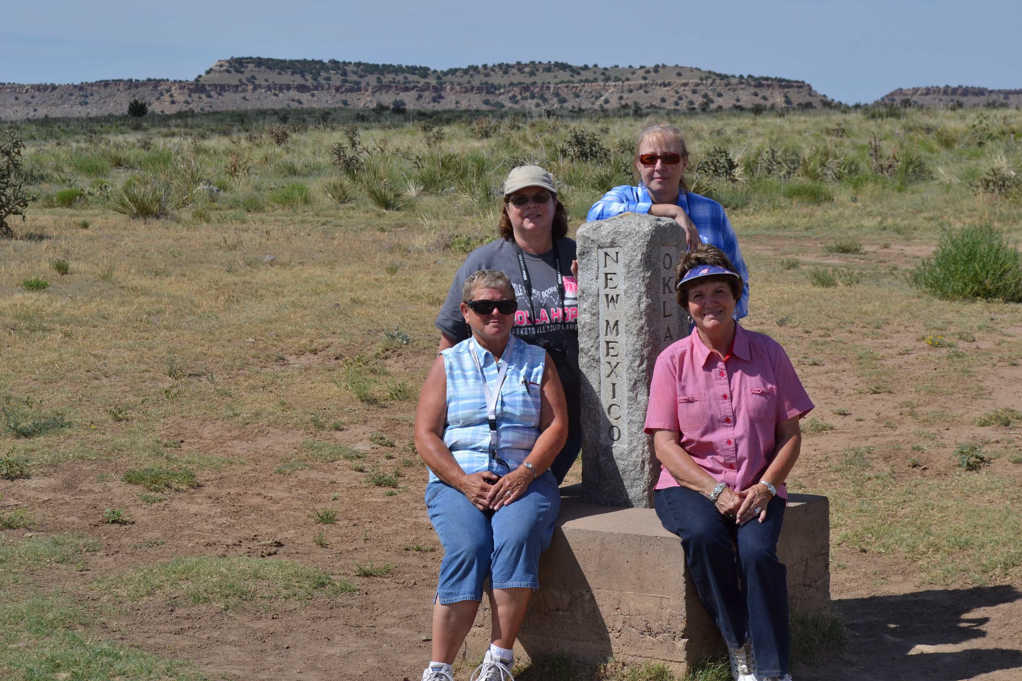 KW Three State Marker, Koleta, Judi, Donette, Kathy