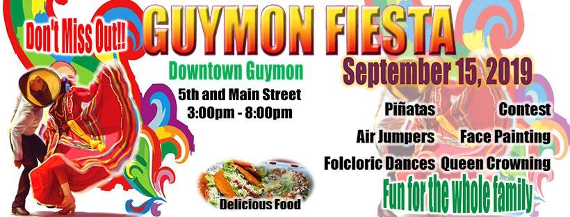 Guymon Fiesta poster with text
