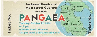 pangaea ticket